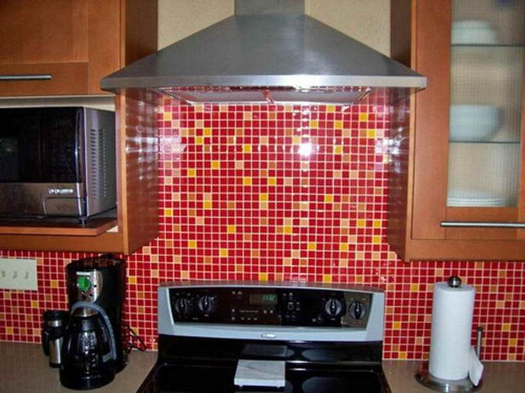 Step By Step On Install Mosaic Tile Backsplash With Cool Color Part 89