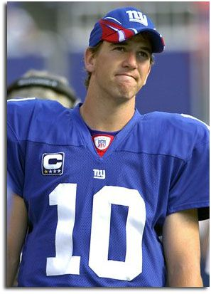 Eli Manning of the New York Giants QB