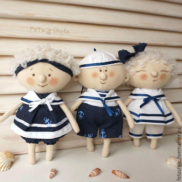 Купить Юнги Куклы текстильные Детский сад на море - юнга, юнга кукла купить