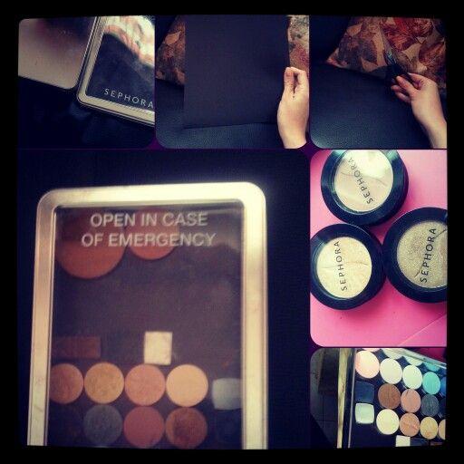 Diy custom makeup palette ♡