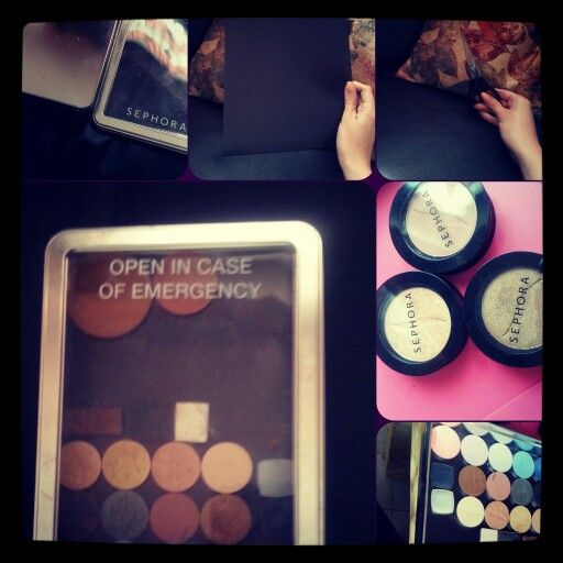 Diy custom makeup palette ♡