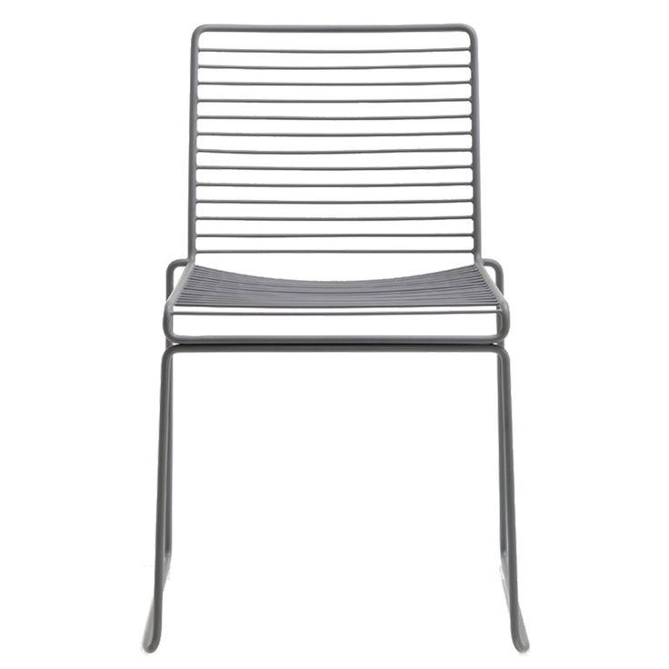 Hee Dining stol, grå i gruppen Møbler / Stoler / Stoler hos ROOM21.no (105977)