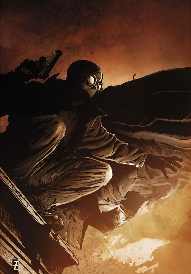 Spider-Man: Spider-Man Noir: Eyes Without A Face #1