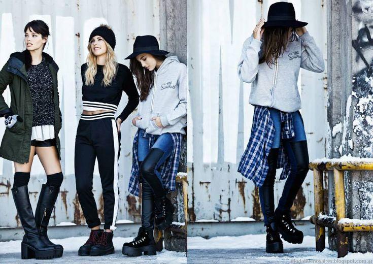 47 Street otoño invierno 2015. Moda otoño invierno 2015 juvenil.