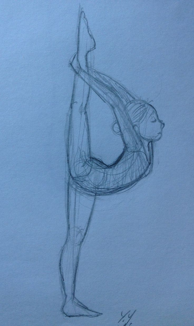 Gymnastics girls, Gymnastics and Girl sketch on Pinterest
