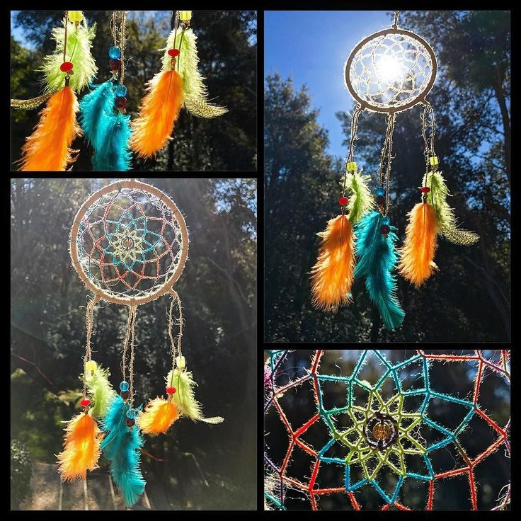 Gift for a loved one! Bringing color to everyday #torileydesigns #dreamcatcher #rainbow #handmade #feathers #unique #oneofakind http://ift.tt/2rLdB4E