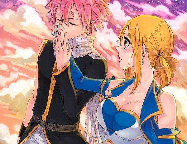 Lucy Heartfilia and Natsu Dragneel #fairy tail | magic ...