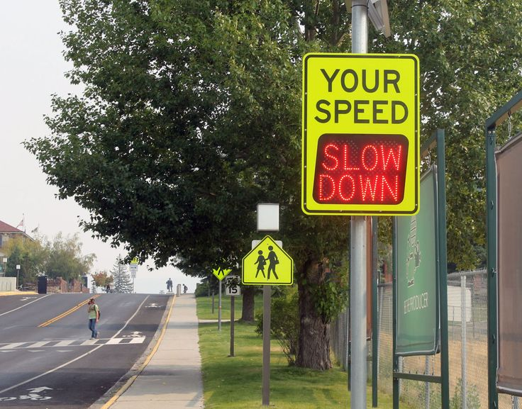 Slow down! Commissioner wants radar speed signs at ...