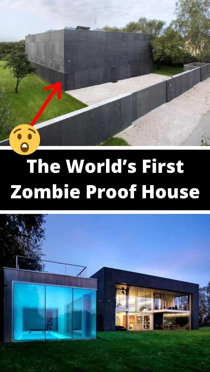 Step Inside The World S First Zombie Proof House Zombie Proof House Apocalypse House Zombie Apocalypse House