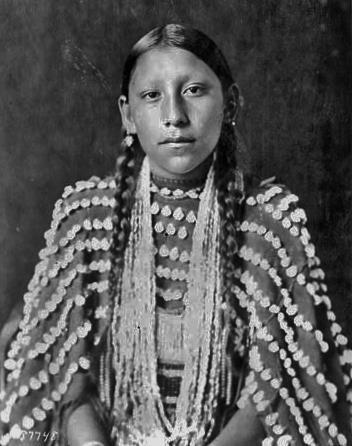 Northern Cheyenne girl - no date