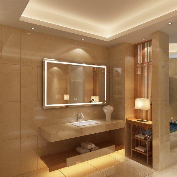 bode embedded led daylight bathroom mirror d co salle de. Black Bedroom Furniture Sets. Home Design Ideas