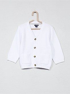 Niño 0-36 meses - Chaqueta de algodón puro de punto bobo - Kiabi ... ab6e939ba506