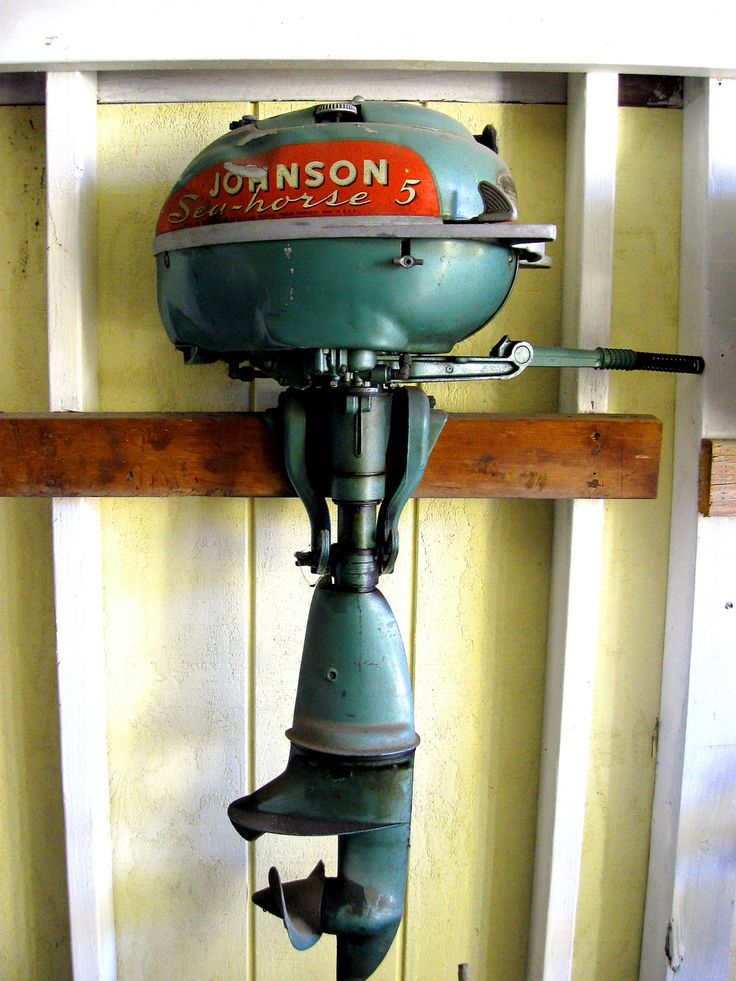 Vintage boat motor, my father was always busy trying to keep these running for our campers....MMA
