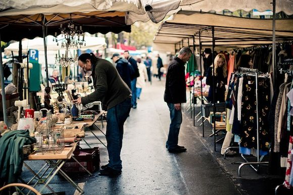 A Guided Tour of the Marché Aux Puces Flea Market