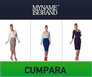 MyNameIsBrand ofera clientilor posibilitatea de a alege articole semnate de peste 280 de brand-uri cunoscute ale momentului. www.mycashback.ro/magazin/1163/mynameisbrand