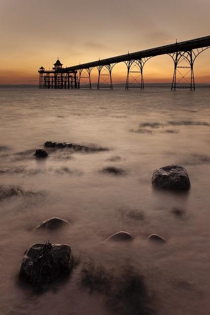 Clevedon Pier, Somerset, England