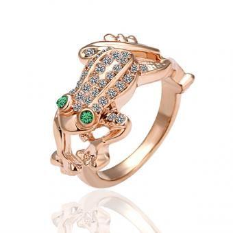 Kermit 18 Karat Gold Plated Ring