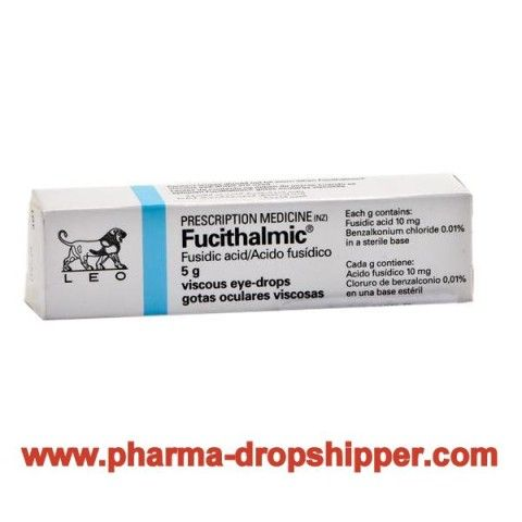 Fucithalmic Eye Drops (Fusidic Acid)