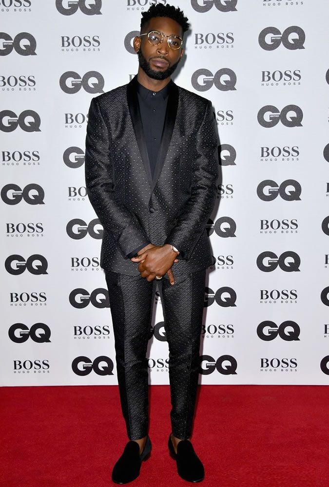 The Best Dressed Men Of The Week: Tinie Tempah at the GQ Men Of The Year Awards 2016, London. #bestdressedmen #tinietempah