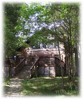 Secluded cabin in the woods where Joe Carson took Hope to torture her into becoming his wife again.
