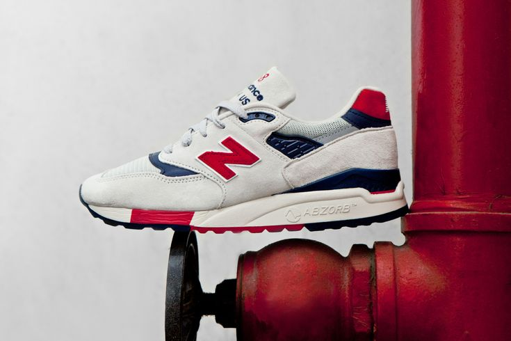 "#JCrew x #NewBalance Made in USA M998 ""Independence Day"" #sneakers"