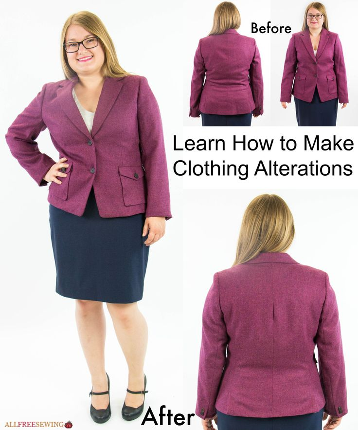 Sewing Lesson: How to Alter Clothes + Giveaway