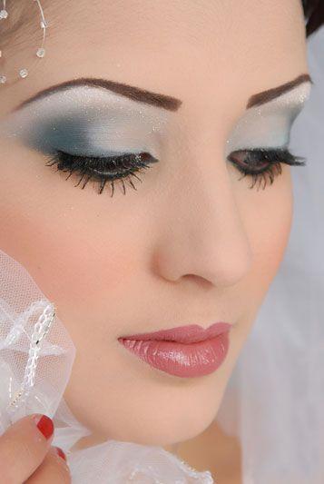 Grey eye makeup Bridal Eye Makeup