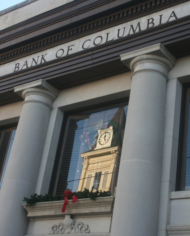 Reflection in Bank of Columbia