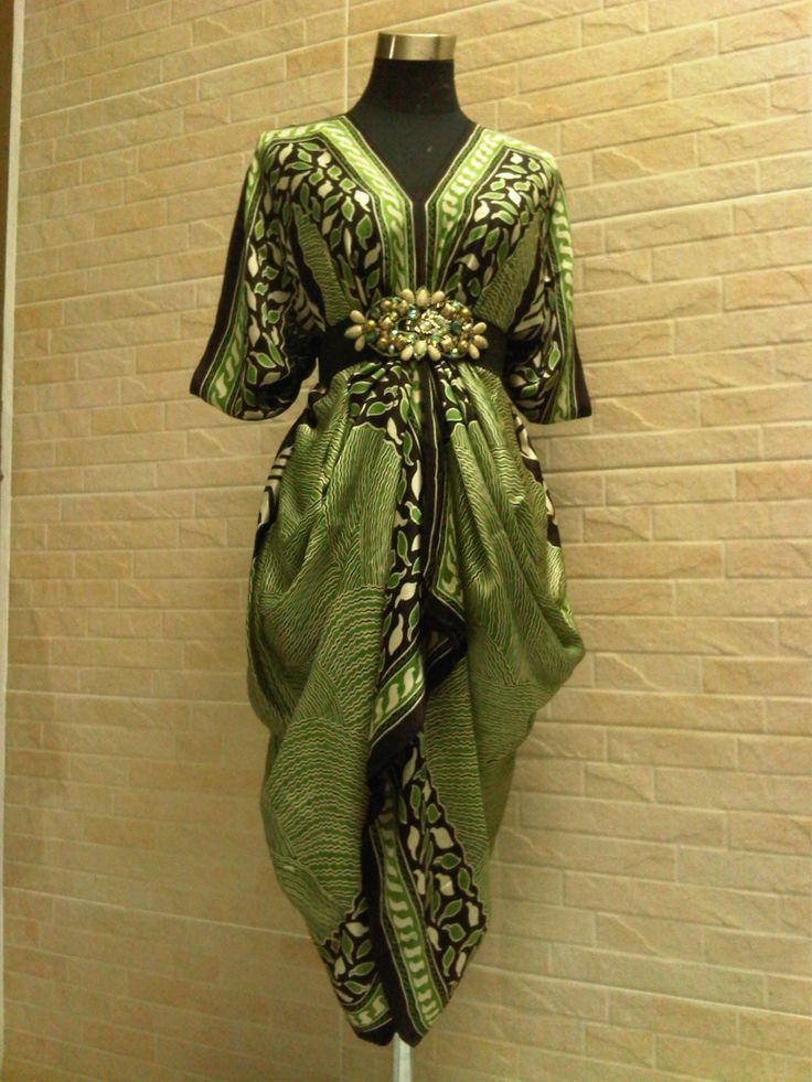 All size batik blouse