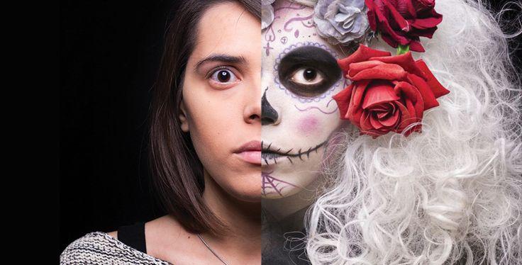 Come truccarsi ad Halloween 2015 - SugarSkull, il teschio messicano