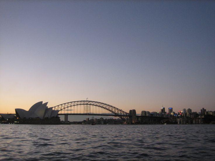 Sydney's sunset
