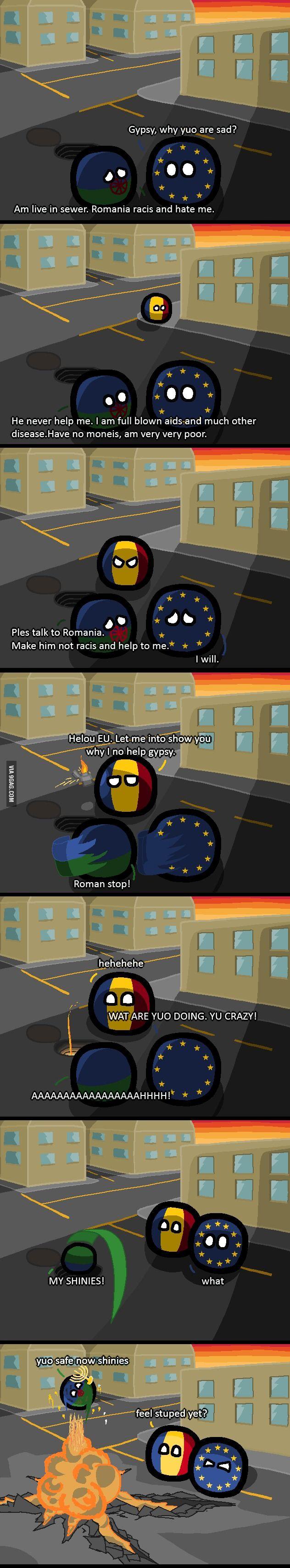Romania racist?