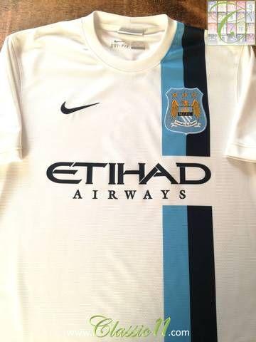 Official Nike Man City 3rd kit football shirt from the 2013 2014 season. 0e7e577d2