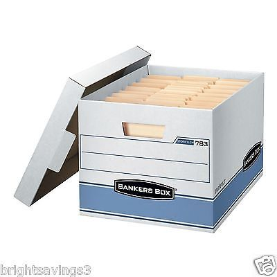 Storage Boxes 159897: 10 Pk Bankers Box Heavy Duty Storage Boxes 10 X 12 X 15 -> BUY IT NOW ONLY: $30.7 on eBay!