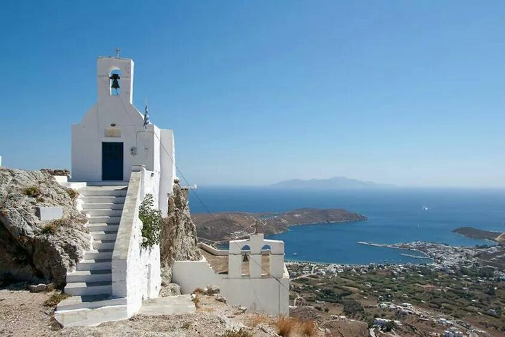 We ❤ Greece | On the top of the hill, #Serifos island #greece #kefalonia #greekislands #travel #explore