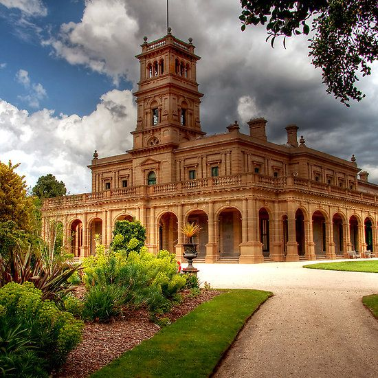 Werribee Park Mansion, Heritage listed, Werribee near Melbourne. Australia