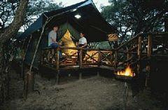 Umfolozi/Hluhluwe Game Reserve - Zululand - Kwazulu-Natal - Landkaart Zuid Afrika || Op reis naar Zuid Afrika: Zuid Afrika reizen en accommodaties in Zuid Afrika!
