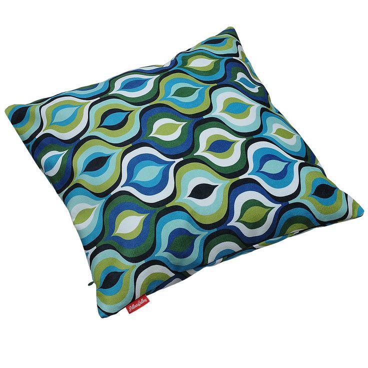 Peacock Soft Blue & Green http://pillowsgallery.com/pl/glowna/34-peacock-soft-blue-green.html