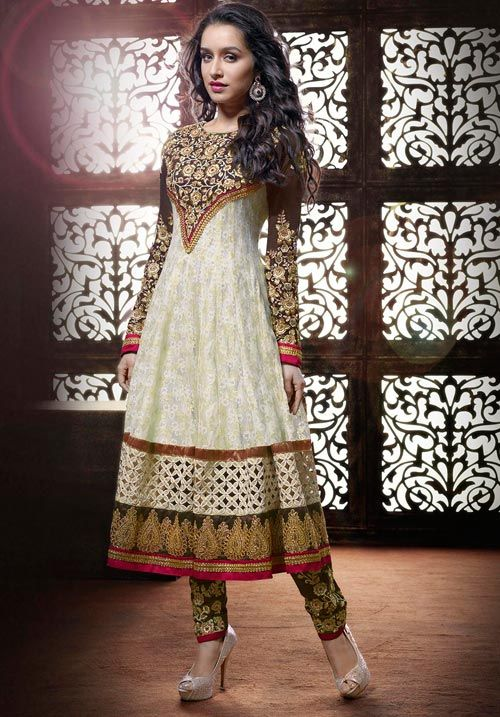 Long Georgette Anarkali Designer Suits http://alicolors.com/index.php?route=product/category&path=115_116