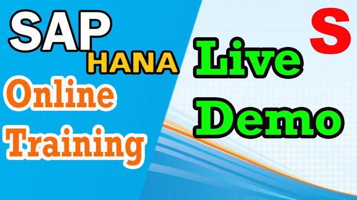SAP HANA Training Live Demo   by Surya Hana Academy