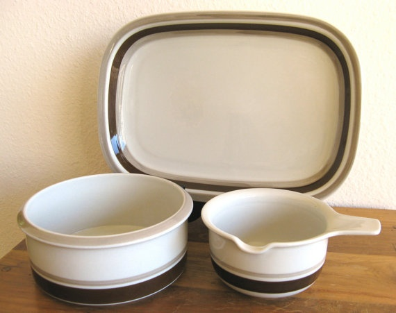 Arabia Finland Pirtti Serving Collection-3 Piece Set by MarketHome, $108.00