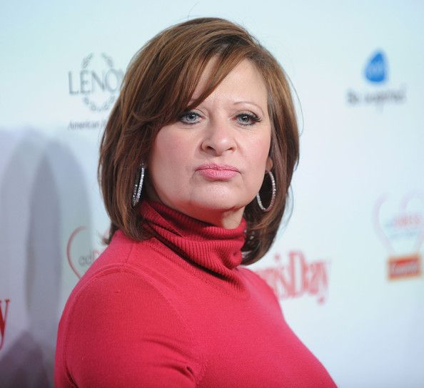 Caroline Manzo Medium Layered Cut - Caroline Manzo's layered cut gave her hair lots of volume.