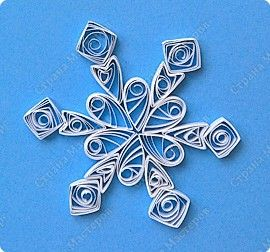 Снежинки квиллингQuilling Snowflakes, Fantastic Quilling, Paper Crafts