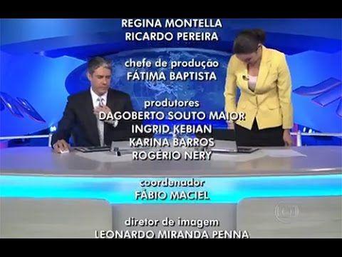 Os maiores micos de Patrícia Poeta em sua passagem pelo Jornal Nacional