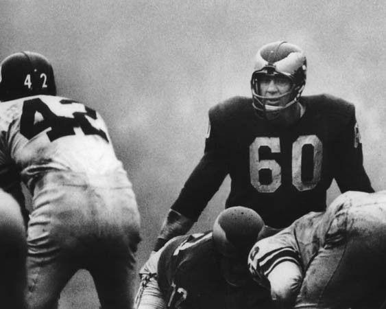 Chuck Bednarik, Philadelphia Eagles  Legends | #MichaelLouis - www.MichaelLouis.com