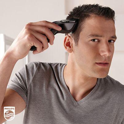 Non hai tempo di andare dal barbiere per sistemare i capelli? Scopri come è facile avere un taglio più veloce e preciso con il nuovo regolacapelli Serie 5000 #Philips