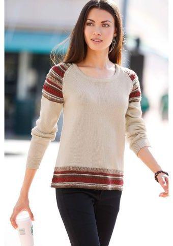 Podzimní svetr s dlouhými rukávy #ModinoCZ #fall #autumn #fashion #colours #autumncolours #trendy #stylish #podzimnimoda #moda #styl