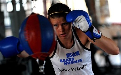 Savannah Marshall (Olympics 2012 - Team GB Boxing)