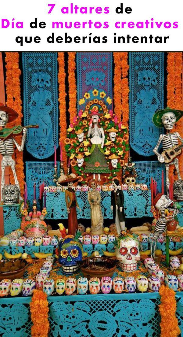 Lo más importante es que la memoria de nuestro ser querido siempre permanezca con nosotros y que nuestra ofrenda tengo los elementos adecuados para que ellos puedan regresar hacia nosotros, hay maneras muy originales de darle un giro y hacer que luzcan mucho más creativos. Checa estas ideas para decorar tu altar de muertos. HUACAL MINI TRAJINERAS MESA TAPETES PARED CAMINITO PISOS Fimo Kids, Mexico Day Of The Dead, Day Of The Dead Party, All Souls Day, Mexican Holiday, Holiday Day, Fruit Of The Spirit, Mexican Folk Art, Mexican Crafts