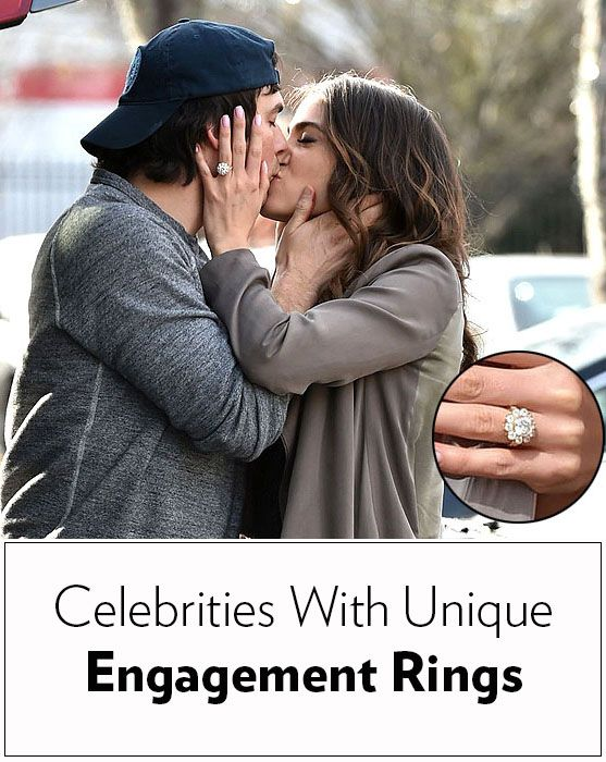 Nikki Reed, Lady Gaga, and more celebrities with gorgeous, unique engagement rings